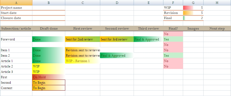 Excel Tracking Template Spreadsheet Exampleemployee Leave Tracker